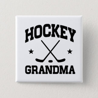 Hockey Grandma 15 Cm Square Badge