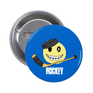 HOCKEY HAPPY BUTTONS