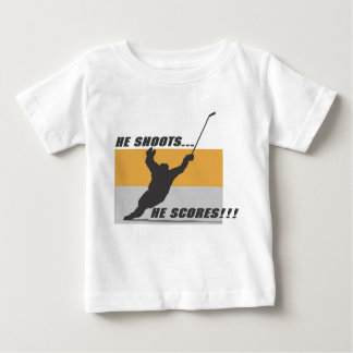 Hockey: He shoots...he scores! Tee Shirts