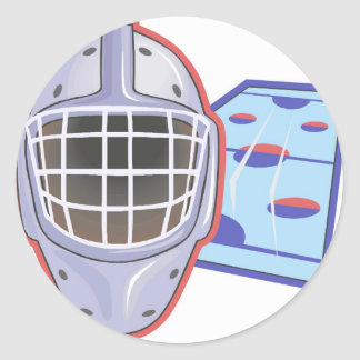 Hockey Helmets Stickers