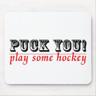 Hockey Humor Mouse Pad