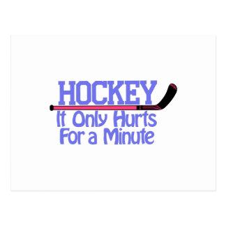 Hockey Hurts Postcard