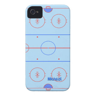 Hockey Ice Rink iPhone Case-Mate Case iPhone 4 Case