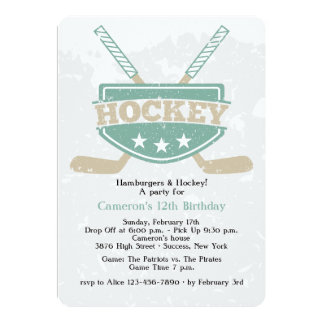 Hockey Invitation