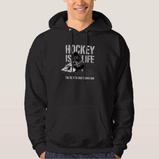 Hockey Is Life Hoodie