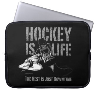 Hockey Is Life Laptop Sleeve