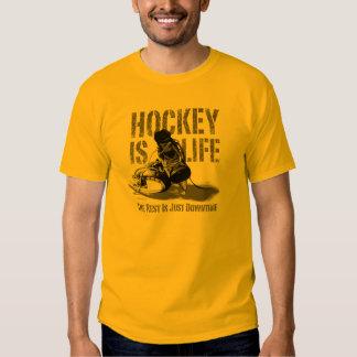 Hockey Is Life Tshirts
