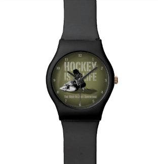 Hockey Is Life Wrist Watch