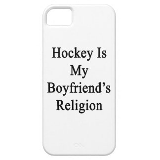Hockey Is My Boyfriend's Religion iPhone 5 Covers