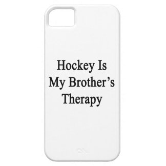 Hockey Is My Brother's Therapy iPhone 5 Cover