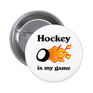 Hockey Is My Game Button