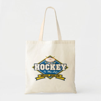 Hockey is My Life Tote Bag