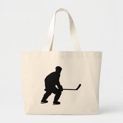 Hockey Jumbo Tote Bag