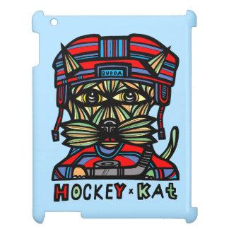 """Hockey Kat"" 631 Art iPad Case"