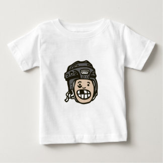 Hockey Kid Black Baby T-Shirt