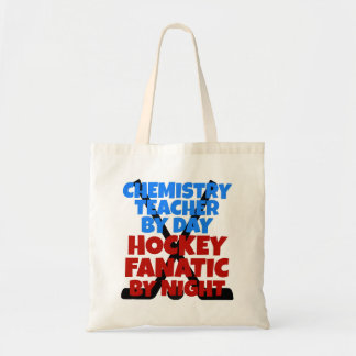 Hockey Lover Chemistry Teacher Tote Bag