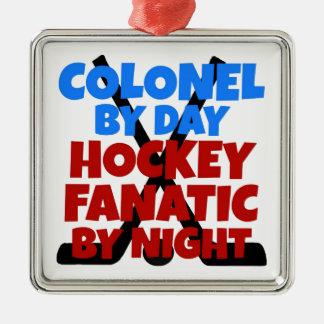 Hockey Lover Colonel Christmas Ornament