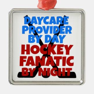 Hockey Lover Daycare Provider Christmas Ornament