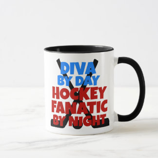 Hockey Lover Diva Mug