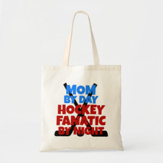 Hockey Lover Mom Tote Bag
