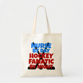 Hockey Lover Nurse Tote Bag