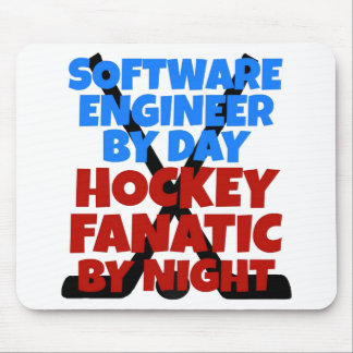 Hockey Lover Software Engineer Mouse Mat