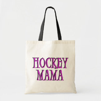 Hockey Mama Hot Pink T-shirts and Gifts Tote Bag