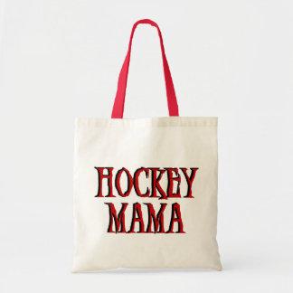 Hockey Mama Red T-shirts and Gifts Tote Bag
