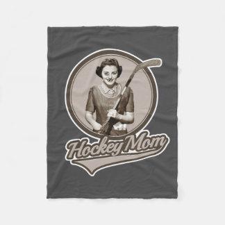 Hockey Mom Fleece Blanket