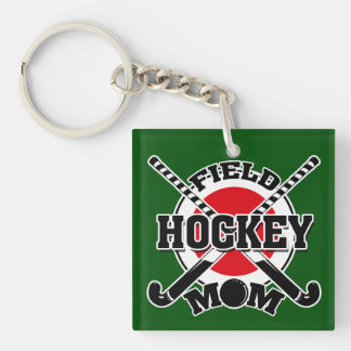 Hockey Mom Key Ring