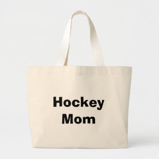 Hockey Mom Large Tote Bag