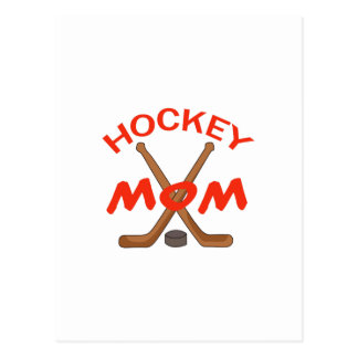 HOCKEY MOM POSTCARDS