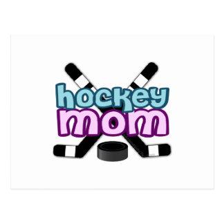 Hockey Mom Postcard