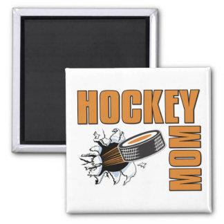 Hockey Mom Square Magnet