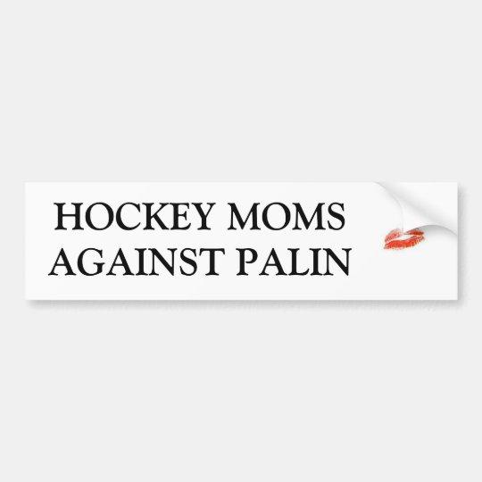 Hockey Moms Against Palin Bumper Sticker