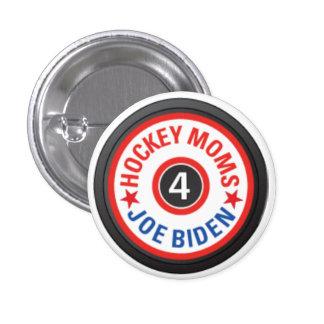 Hockey Moms for Biden Button