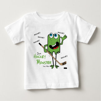 Hockey Monster Baby Shirt