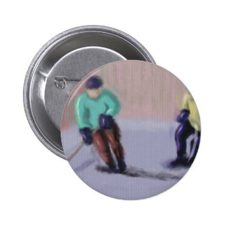Hockey Moves 2 Inch Round Button