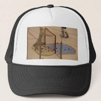 Hockey Net Trucker Hat