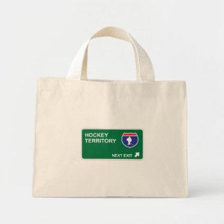 Hockey Next Exit Canvas Bags