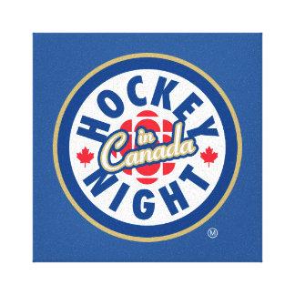 Hockey Night in Canada logo Canvas Print