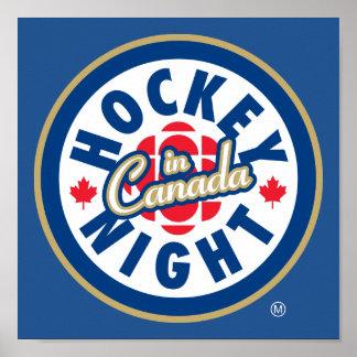 Hockey Night in Canada logo Poster