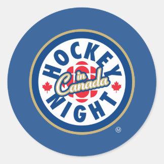 Hockey Night in Canada logo Round Sticker