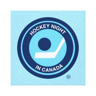 Hockey Night in Canada retro logo Canvas Print