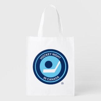 Hockey Night in Canada retro logo Reusable Grocery Bag