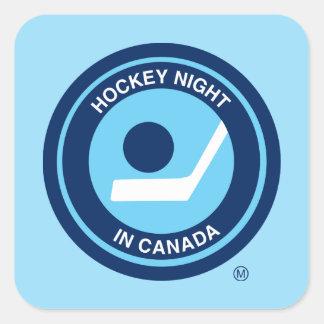 Hockey Night in Canada retro logo Square Sticker