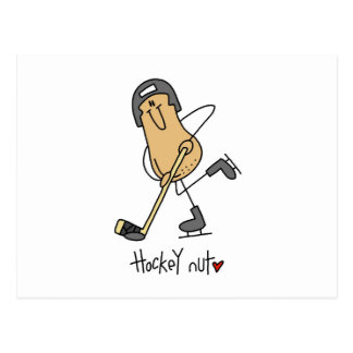 Hockey Nut T-shirts and Gifts Postcard