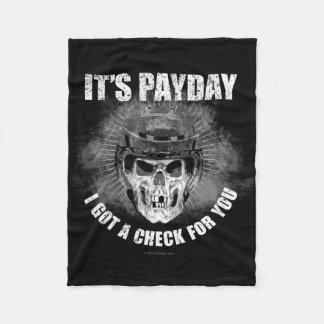 Hockey Payday Fleece Blanket