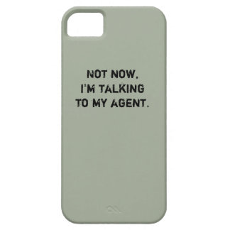 "Hockey Phone Case - ""Not Now..."""