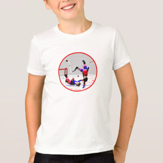 Hockey Player Action T-Shirt